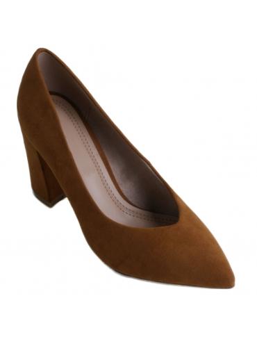 Zapato Camel liso Sintético
