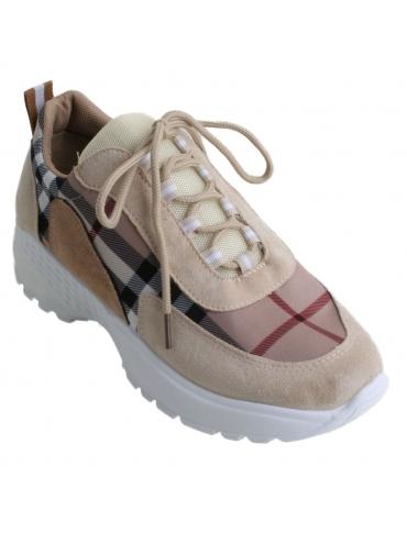 Zapatillas taupe