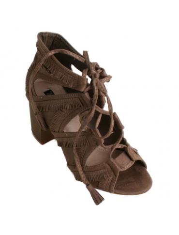 Zapato camel