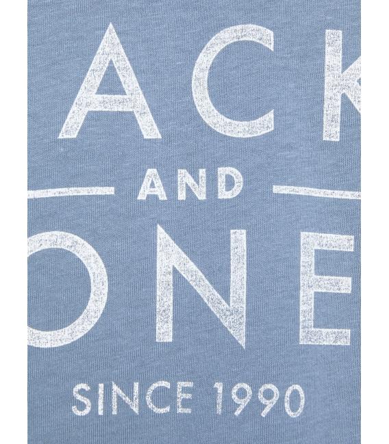 JackJones Jeans camiseta azul manga corta Jack & Jones cuello redondo