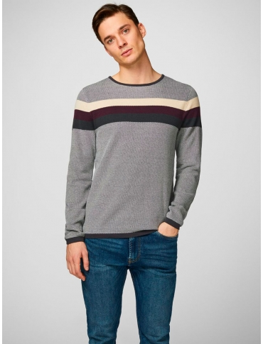 Produkt Lorri jersey marino manga larga rayas cuello redondo