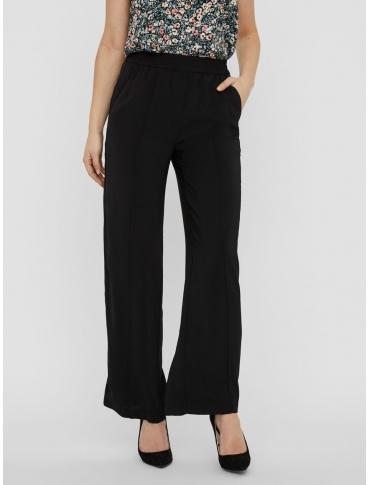 Vero Moda Katrina pantalón negro liso