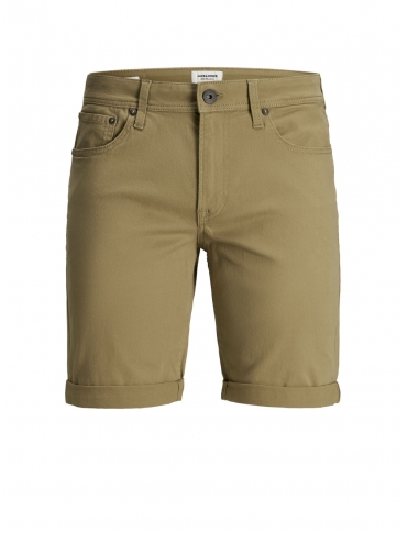 Jack and Jones Riky Pantalón vaquero corto beigeliso