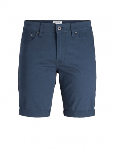 Jack and Jones Riki shorts marino manga corta liso