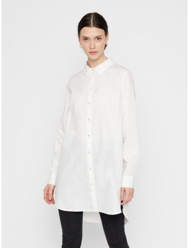 Pieces Noma camisa blanca