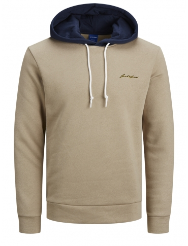 Jack and Jones Romulo Sudadera con capucha beige