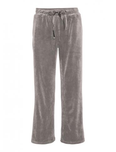 Vero Moda Thena Pantalón de tereciopelo gris