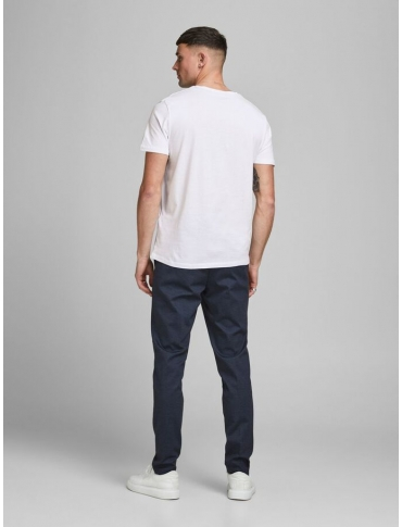 Jack and Jones Shake camiseta blanca manga corta