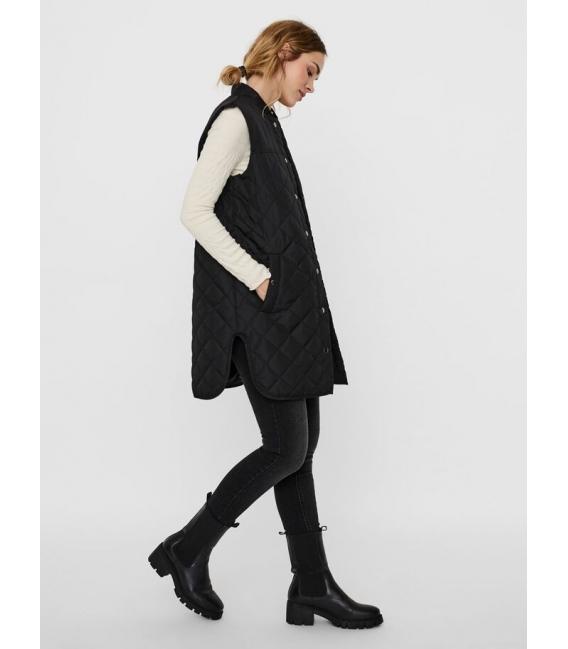 Vero Moda Simon chaleco negro liso