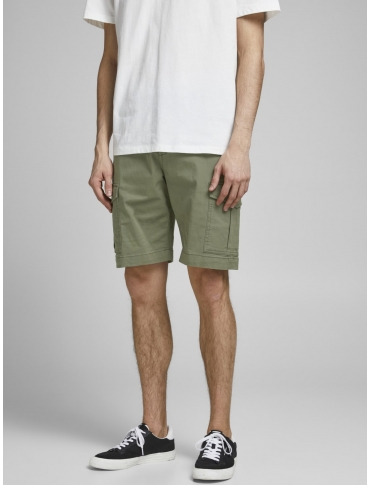 Jack and Jones Joe shorts verde liso