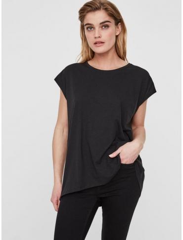 Noisy May Mathilde camiseta oversize negra