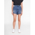 Noisy May Lothe short vaquero denim