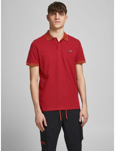 Jack and Jones Change polo rojo