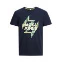 Jack and Jones Spring camiseta marino