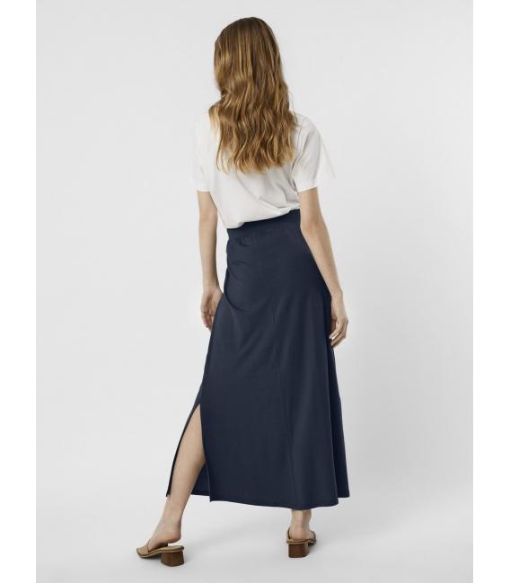 Vero Moda Ava falda larga marino
