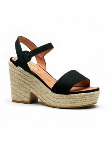 sandalia negra