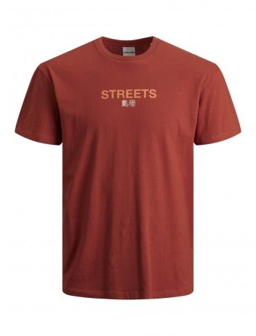 Jack and Jones Chinese camiseta roja