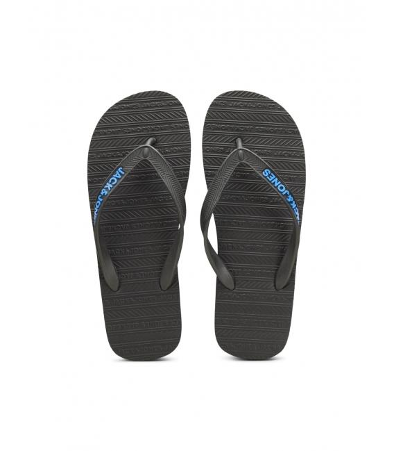Jack and Jones Basic sandalias flip flop negras