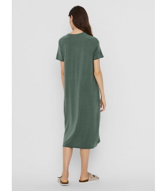 Vero Moda Gava vestido largo verde