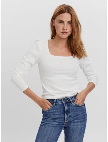 Vero Moda Natasha top blanco