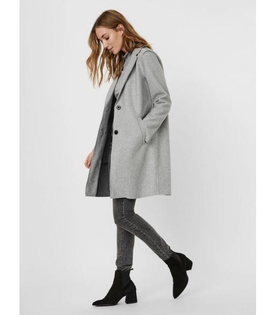 Vero Moda Paula Chaqueta larga gris