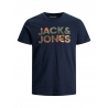 Jack and Jones Soldier camiseta marino