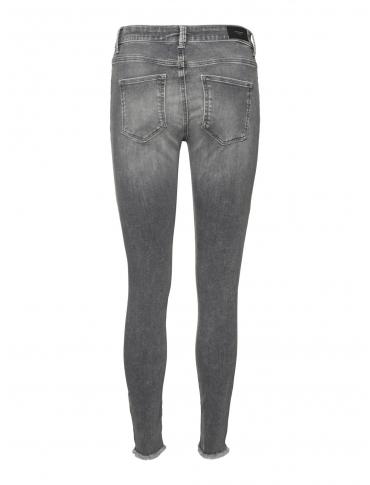 Vero Moda Peach pantalón vaquero gris