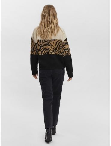 Vero Moda Block jersey camel